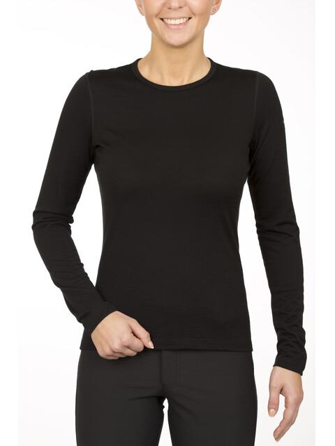 Icebreaker Oasis LS Crewe Shirt Women black